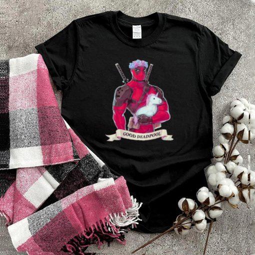 good Deadpool Unicorn Shirt