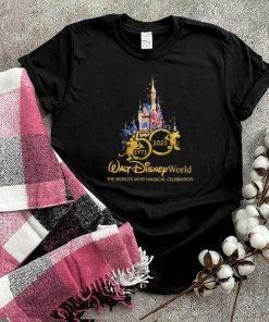 50 1971 2021 walt disney world the worlds most magical celebration shirt