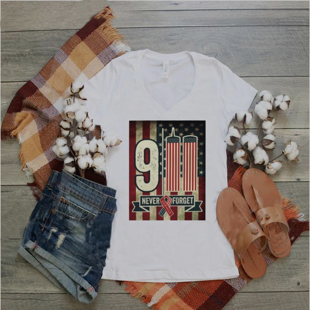9 11 never forget 20th Anniversary decorative shirt