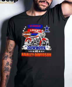 An American Legend Dallas Cowboys and Harley Davidson shirt