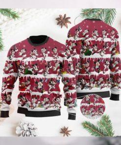 Arizona Cardinals Mickey NFL American Football Ugly Christmas Sweater Sweatshirt Party
