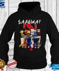 Awesome horror Halloween chibi Safe Way Friends water mirror shirt
