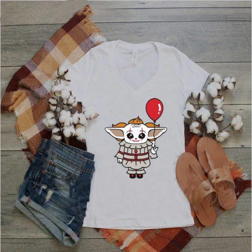 Baby Yoda Cosplay Pennywise shirt