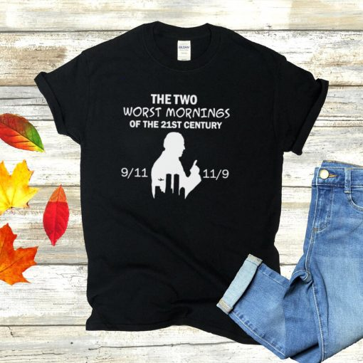 Biden the two worst mornings of the 21st century shirt