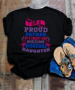 Bisexual Pride to show support for daughter from father shirt