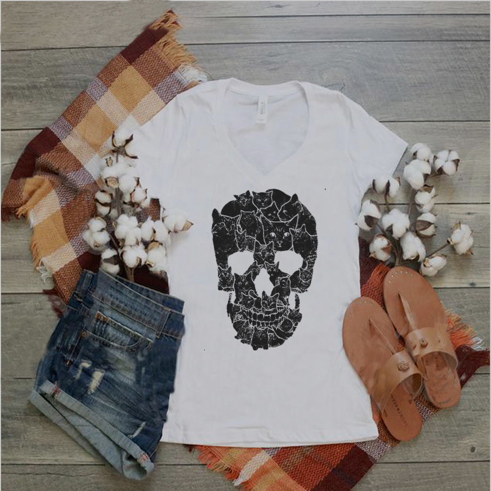 Black Cat Skull shirt