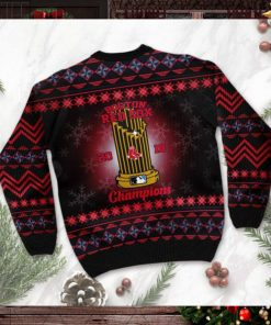 Boston Red Sox World Series Champions MLB Cup Ugly Christmas Sweater Sweatshirt Party