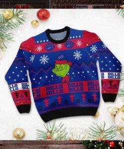 Buffalo Bills American NFL Football Team Logo Cute Grinch 3D Men And Women Ugly Sweater Shirt For Sport Lovers On Christmas Days