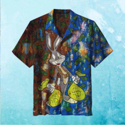 Bugs Bunny Rainy Days Hawaiian Shirt