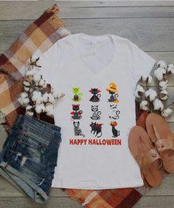Cat Cartoon Happy Halloween shirt