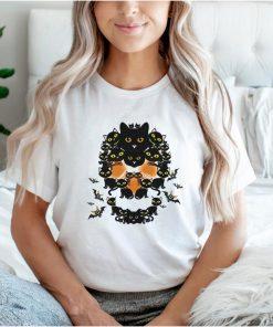 Cat Shape Of Skull shirt