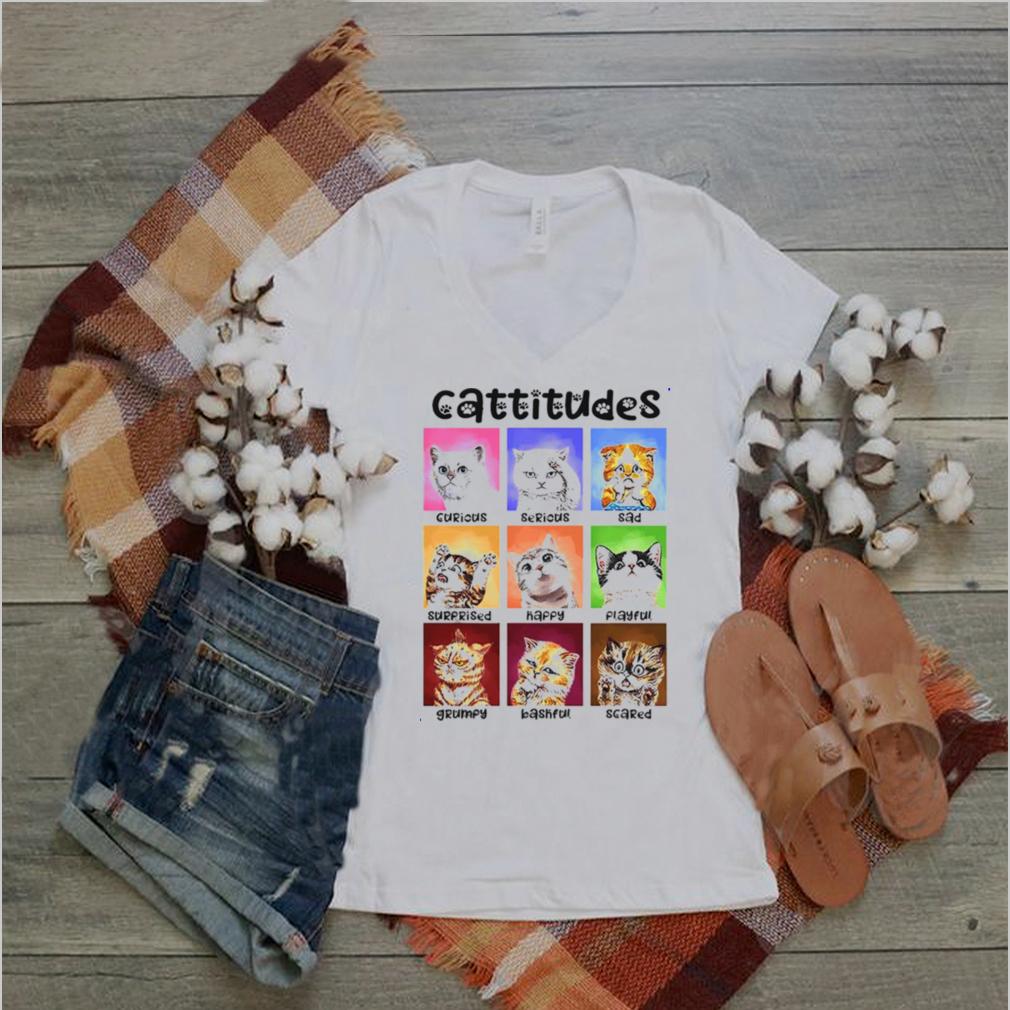 Cattitudes shirt