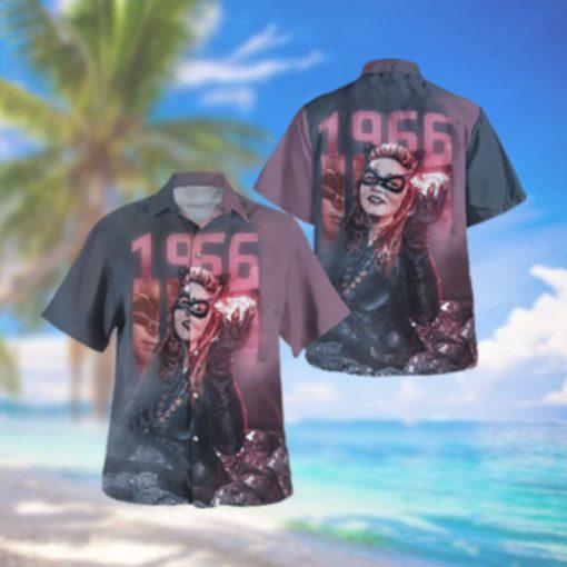 Catwoman 1966 Batman Hawaiian Hawaiian Shirt