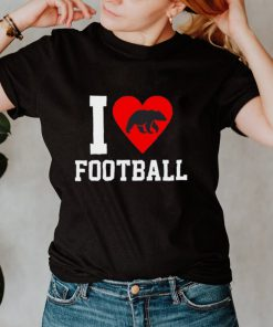 Chicago Bear I Heart Football shirt