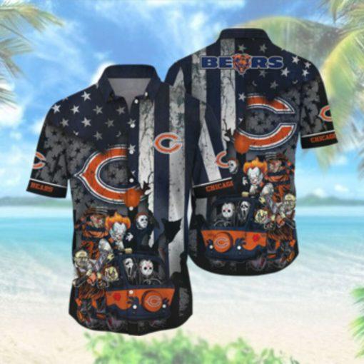 Chicago Bears NFL Hawaiian Shirts