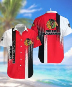 Chicago Blackhawks Limited Edition Button Down Hawaiian Shirt