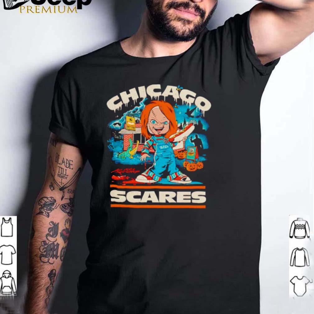 Chucky Chicago scares Halloween shirt
