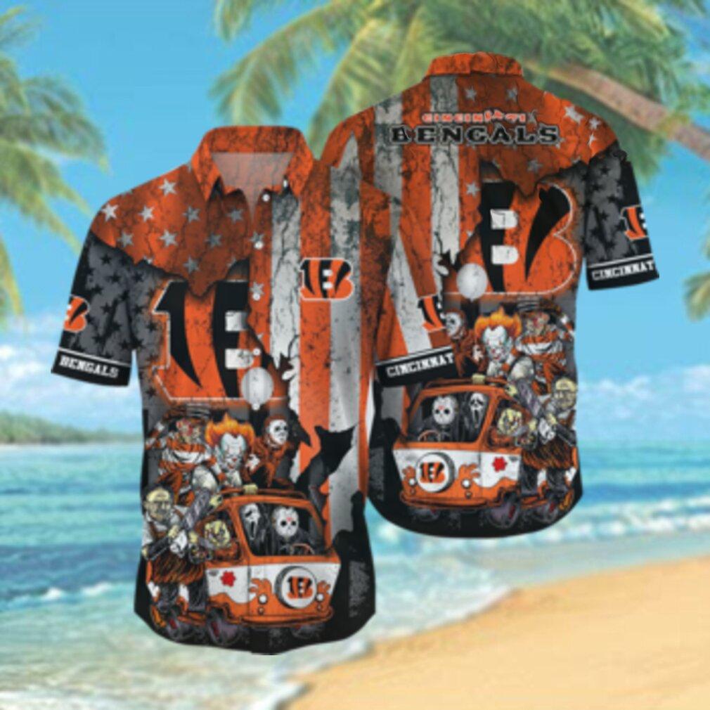 Cincinnati Bengals NFL Hawaiian Shirts Style Hot Trending