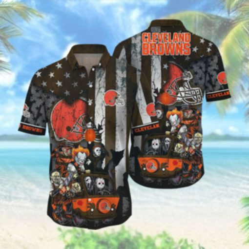 Cleveland Browns NFL Hawaiian Shirts Style Hot Trending