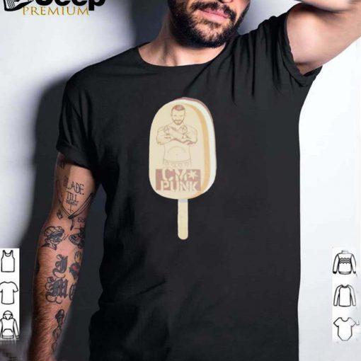 Cm Punk ice cream shirt (1)