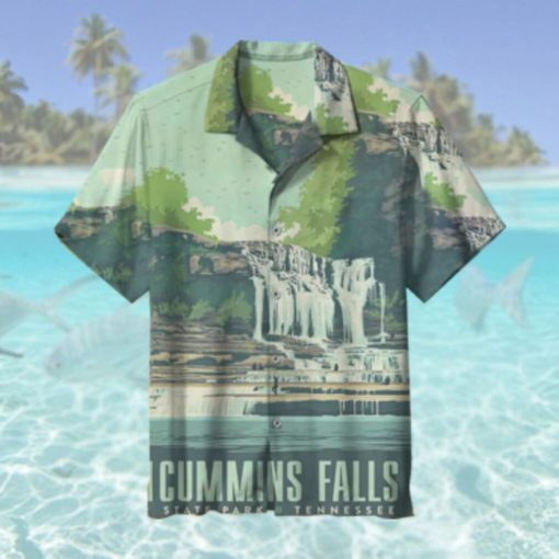 Cummins Falls State Park Tennessee Hawaiian Shirt