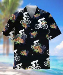 Cycling Hawaiian Nature Hawaiian Shirt