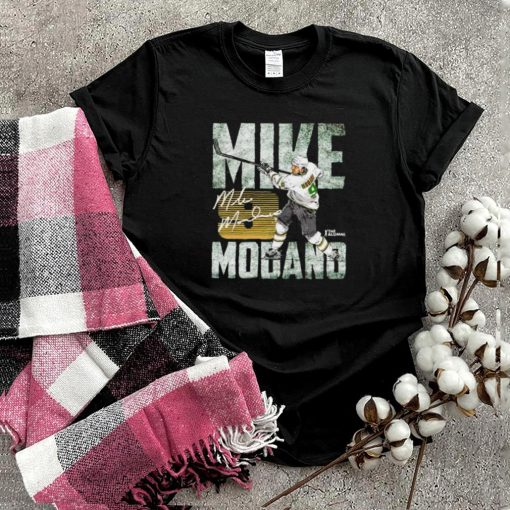 Dallas Stars Mike Modano 9 hit the ball shirt