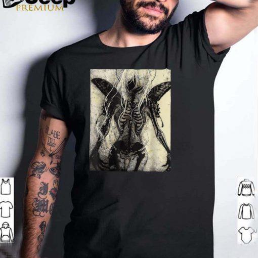 Dark Art Grunge Goth Occult Gothic Aesthetic Girl Horror T Shirt