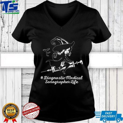 Diagnostic Medical Sonographer witch HALLOWEEN COSTUME LOVE T Shirt