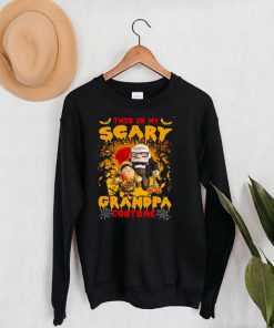 Ed Asner This Is My Scary Grandpa Costume Halloween Shirt