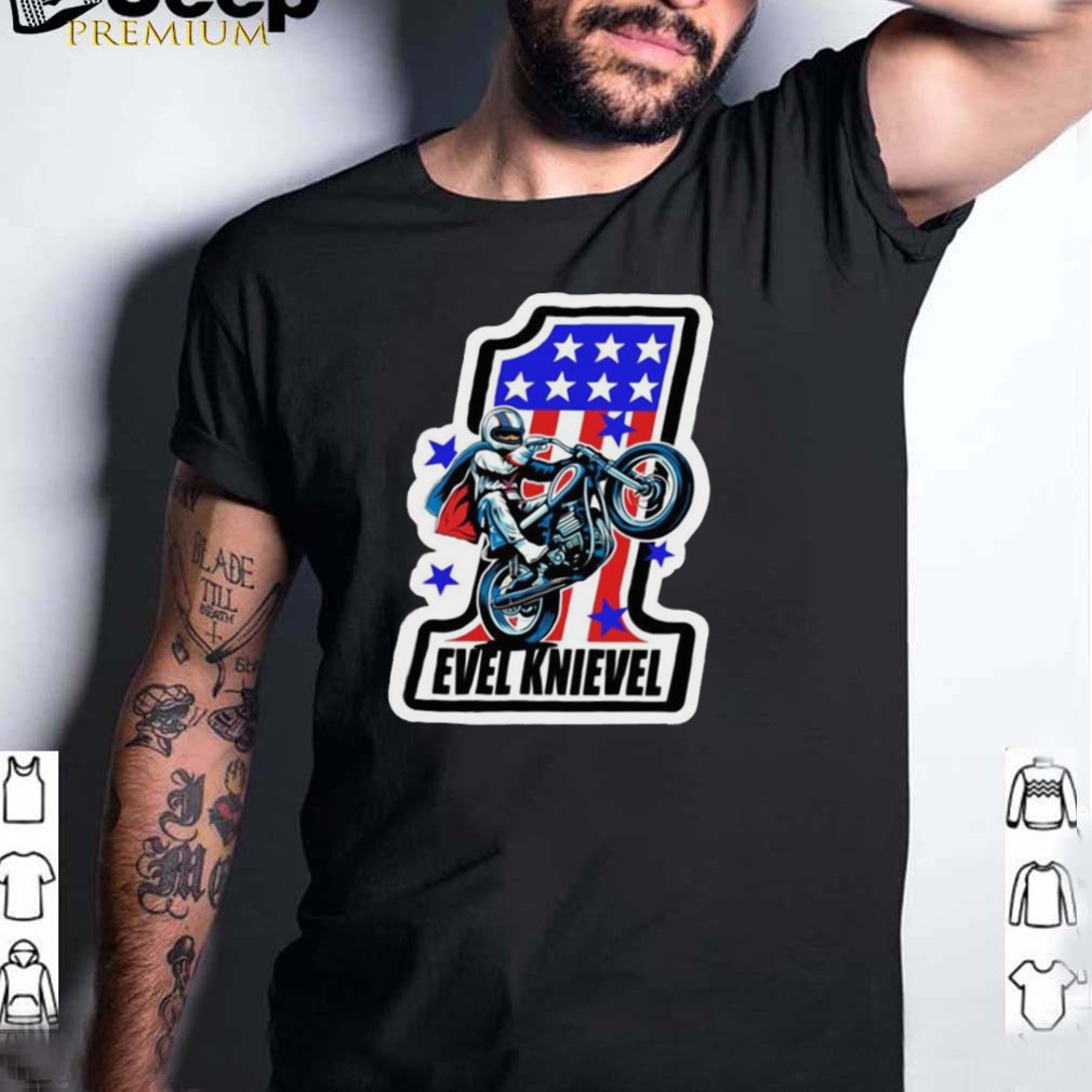 Evel Knievel Number One Shirt