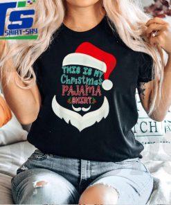 Funny This Is My Christmas Pajama tee Xmas Lights Holiday T Shirt