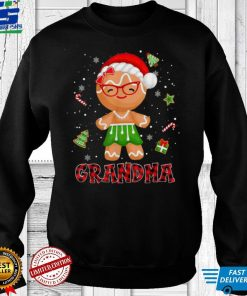 Gingerbread Grandma Buffalo Plaid Christmas Shirt Mama T Shirt