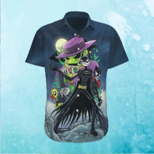 Halloween Jack Skellington Batman Hawaiian Hawaiian Shirt