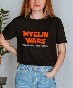 Halloween Myelin Wars Support Multiple Sclerosis Awareness Shirt
