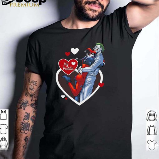Harley Quinn My Puddin Valentines Day T shirt