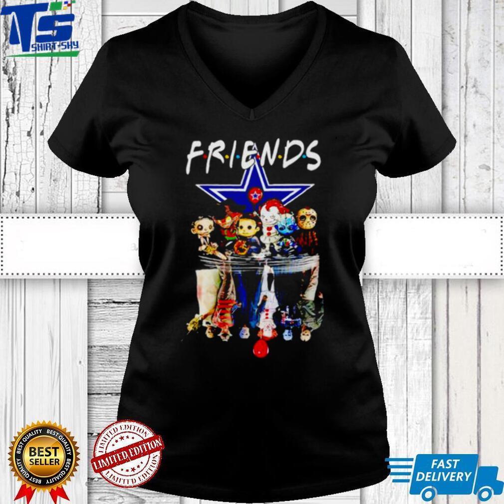 Horror Halloween chibi Cowboys Friends water mirror shirt