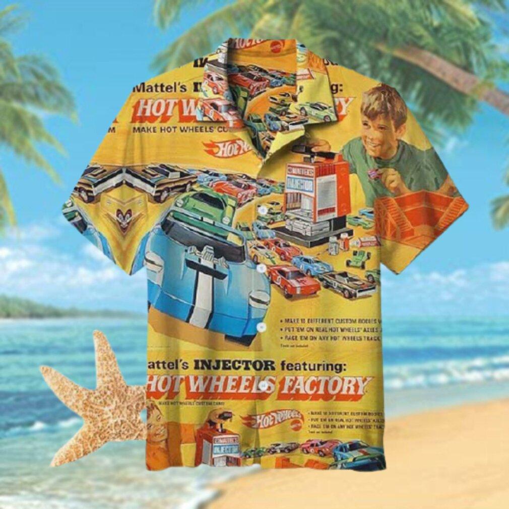 Hot Wheels car factory Hawaiian Shirt T Hawaiian Shirt