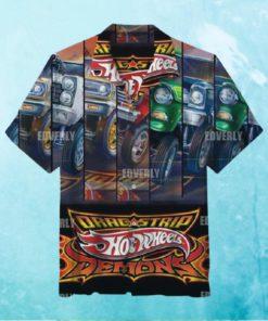 Hot wheels Demons Drag Strip Hawaiian Shirt and T Hawaiian Shirt