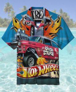 Hot wheels candy striper gasser Hawaiian Shirt T Hawaiian Shirt