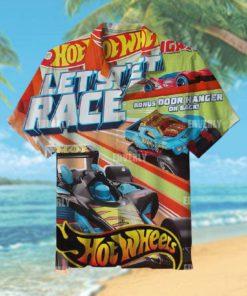 Hot wheels let s race Hawaiian Shirt T Hawaiian Shirt