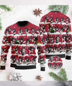 Houston Texans Mickey NFL American Football Ugly Christmas Sweater Sweatshirt Party