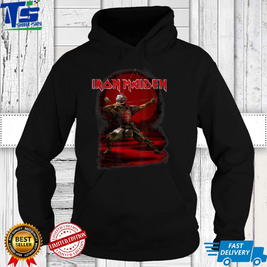 Iron Maiden   Senjutsu Eddie Red Archer T Shirt