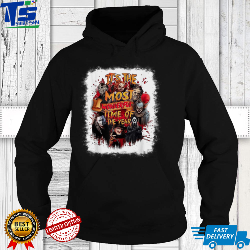 It's The Most Wonderful Time Of The Year Horror Halloween T Shirt