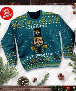 Jacksonville Jaguars I Am Not A Player I Just Crush Alot Ugly Christmas Sweater Sweatshirt