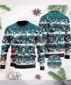 Jacksonville Jaguars Mickey NFL American Football Ugly Christmas Sweater Sweatshirt Party