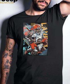 Jarvis landry vibrant original artwork shirt