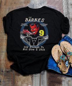 Jay Barnes 9 Racing Devil Sprint Car Speedway shirt