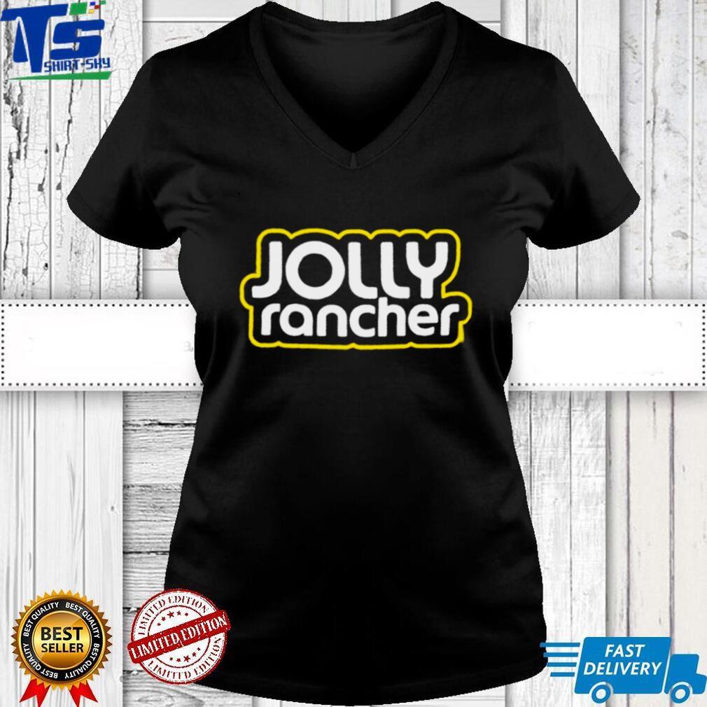 Jolly rancher shirt