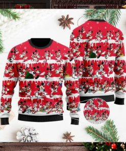 Kansas City Chiefs Mickey NFL American Football Ugly Christmas Sweater Sweatshirt Party